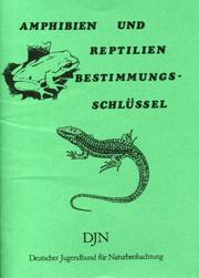 DJN-Bestimmungsschlüssel für Amphibien und Reptilien